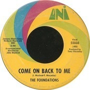 7inch Vinyl Single - The Foundations - Baby, Now That I've Found You