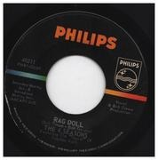 7inch Vinyl Single - The Four Seasons - Rag Doll / Silence Is Golden