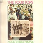 LP - The Four Tops - Main Street People - Original German