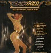 LP - The Four Tops, The Temptations, Stevie Wonder,.. - Black Gold