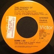 7inch Vinyl Single - The Friends Of Distinction - It Don't Matter To Me
