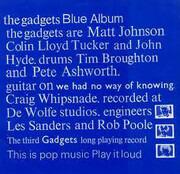 CD - The Gadgets - Blue Album