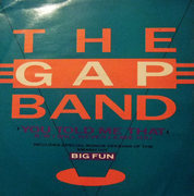 12'' - The Gap Band - You Told Me That