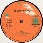 LP - The Glass Family - Crazy! - still sealed
