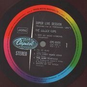 LP - The Golden Cups - Super Live Session - Pokora 1001. Japanese. Red Vinyl