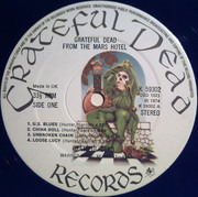 LP - The Grateful Dead - From The Mars Hotel