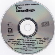 CD - The Groundhogs - Classic Album Cuts 1968 - 1976