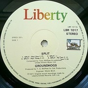 LP - The Groundhogs - Split