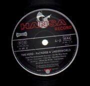LP - The Herd - Paradise and Underworld - german original hansa