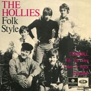 7inch Vinyl Single - The Hollies - Folk Style