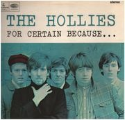 LP - The Hollies - For Certain Because... - original 1st uk PROMO!!
