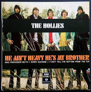 7inch Vinyl Single - The Hollies - He Ain't Heavy He's My Brother