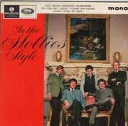 7inch Vinyl Single - The Hollies - In The Hollies Style - Original UK EP