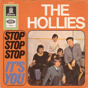 7'' - The Hollies - Stop Stop Stop / It's You