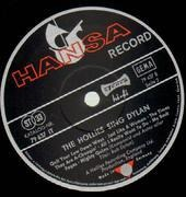 LP - The Hollies - The Hollies Sing Dylan