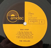 LP - The Hollies - Bus Stop