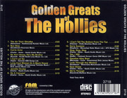 CD - The Hollies - Golden Greats Of The Hollies