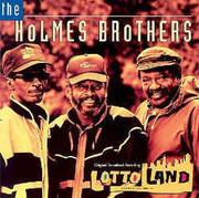CD - The Holmes Brothers - Lotto Land Original Soundtrack Recording - signed