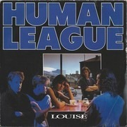 7inch Vinyl Single - The Human League - Louise - Matt paper picture sleeve