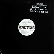 12'' - The Human League - Love Is All That Matters - Promo