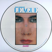 Picture LP - The Human League - Dare! - White