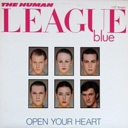 12inch Vinyl Single - The Human League - Open Your Heart
