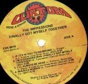 LP - The Impressions - Finally Got Myself Together
