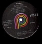 LP - The Impressions - The Versatile Impressions