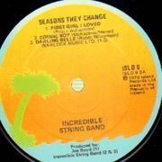 Double LP - The Incredible String Band - Seasons They Change