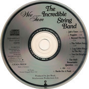 CD - The Incredible String Band - Wee Tam