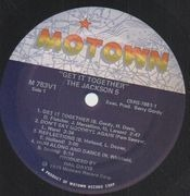 LP - The Jackson 5 - Get It Together - Gimmick Cover