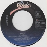 7inch Vinyl Single - The Jacksons - Body