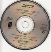 CD - The Jacksons - Goin' Places
