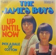 7'' - The James Boys - Up Until Now / Pick A Bale Of Cotton Wool