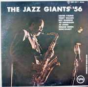LP - Lester Young, Teddy Wilson, a.o. - The Jazz Giants '56 - Mono