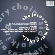 12inch Vinyl Single - The Jesus And Mary Chain - Sidewalking