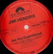 LP - Jimi Hendrix - Are You Experienced