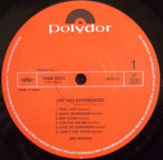 LP - The Jimi Hendrix Experience - Are You Experienced - +OBI
