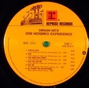 LP - The Jimi Hendrix Experience - Smash Hits