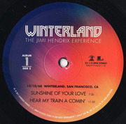 LP-Box - The Jimi Hendrix Experience - Winterland - STILL SEALED, 180 gram