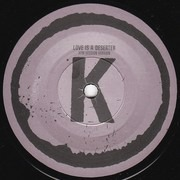 7inch Vinyl Single - The Kills - Love Is A Deserter