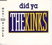 CD Single - The Kinks - Did Ya
