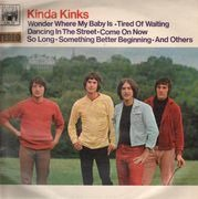 LP - The Kinks - Kinda Kinks - Marble Arch UK