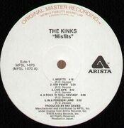 LP - The Kinks - Misfits - Half Speed MFSL