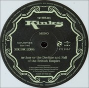 Double LP - Kinks - Arthur Or The Decline And Fall Of The British Empire - -Deluxe-