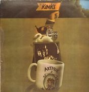 LP - The Kinks - Arthur Or The Decline And Fall Of The British Empire - original uk queen insert