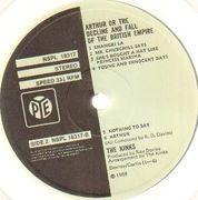 LP - The Kinks - Arthur Or The Decline And Fall Of The British Empire - STEREO UK
