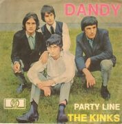 7inch Vinyl Single - The Kinks - Dandy - Picture Sleeve