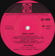 LP - The Kinks - Kinda Kinks - UK First pressing