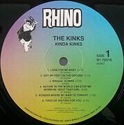 LP - The Kinks - Kinda Kinks - Still sealed